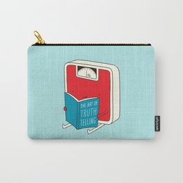 The art of Truth Telling Carry-All Pouch