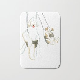 Hanging out Bath Mat