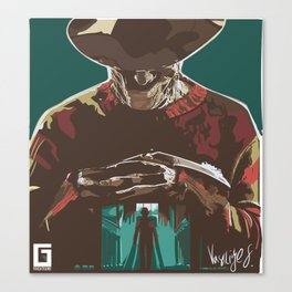 Freddy the Boogieman Canvas Print