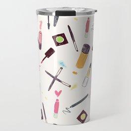 Lets Make up Vibrant Travel Mug