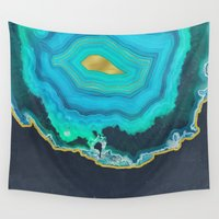 infinite Wall Tapestries featuring Infinite World by cafelab