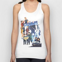 "the goonies Tank Tops featuring The Goonies never say ""die"" ! by Collectif PinUp!"