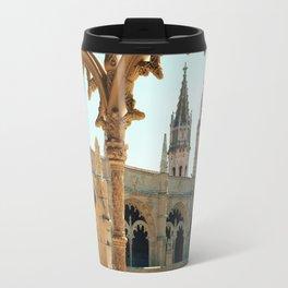 MOSTEIRO DOS JERONIMOS, Lisbon - Portugal.  Analog 6x6 Kodak Ektar 100 (RR158) Travel Mug