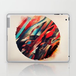 64 Watercolored Lines Laptop & iPad Skin