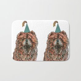 Chow Party Bath Mat