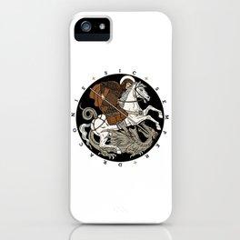 Sic Semper Draconis iPhone Case