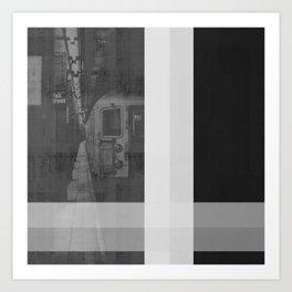 New York No. 1 | Subway Art Print