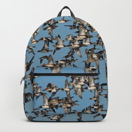 Wintering Ducks in Flight Backpack