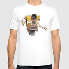 Borderlands Claptrap Watercolour Mens Fitted Tee White X-LARGE