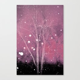 Snow Fall Canvas Print