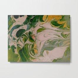 Liquid Forest Metal Print