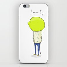 Lemon Boy iPhone & iPod Skin