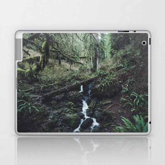 California Redwood Rainforest - Nature Photography Laptop & iPad Skin