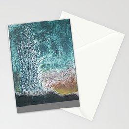 dark landscape Stationery Cards
