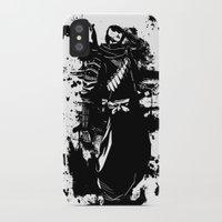 ninja iPhone & iPod Cases featuring Ninja by KawaINDEX