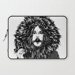 Lady Winter. Yury Fadeev© Laptop Sleeve