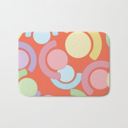 Half Saturn Bath Mat