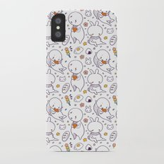 Heart Kids Pattern Slim Case iPhone X