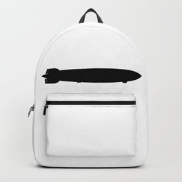 Air Ship Silhouette Backpack