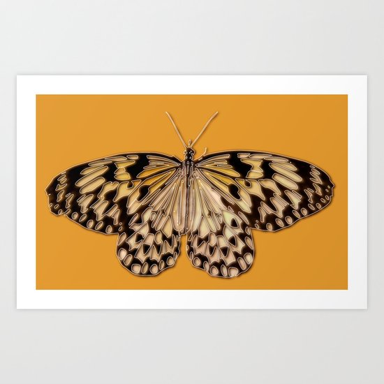 Untitled Butterfly #5 Art Print