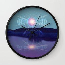 Futuristic Visions 01 Wall Clock