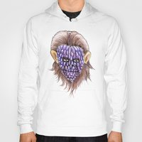 ape Hoodies featuring Grape Ape by ronnie mcneil