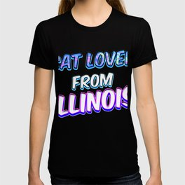 Dog Lover From Illinois T-shirt