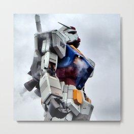 Gundam Pride Metal Print