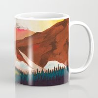 outdoor Mugs featuring Outdoor by salauliamusu