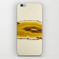 Agate - Yellow Slice iPhone & iPod Skin