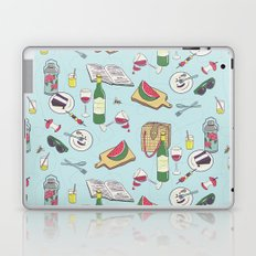 messy picnic Laptop & iPad Skin