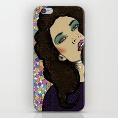 Dotty Girl iPhone & iPod Skin