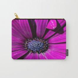 Purple Osteospermum Flower Carry-All Pouch