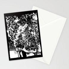Burning Monk Stationery Cards