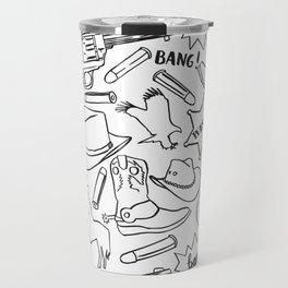 Wild west pattern Travel Mug