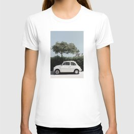 Italian Car, Italian streets, Art print T-shirt