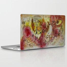 skribb in madrid Laptop & iPad Skin