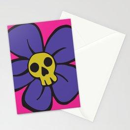 She kills me, she kills me not... Stationery Cards