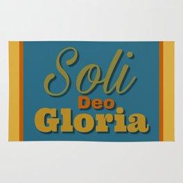 Soli Deo Gloria Rug
