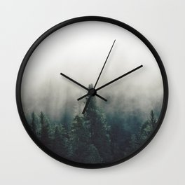 Finding Heaven - Nature Photography Wall Clock
