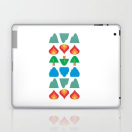 Synthesis of Natural Forms Laptop & iPad Skin