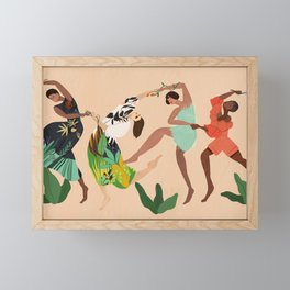 Dancing to the Beat of my Own Drum Framed Mini Art Print