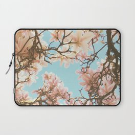 Pink Magnolia Laptop Sleeve