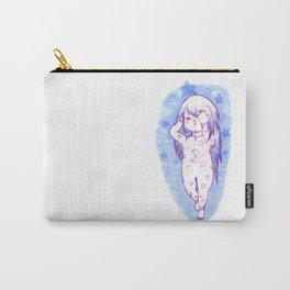 Sleepy Blue Girl Carry-All Pouch