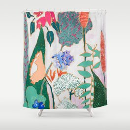Speckled Garden Shower Curtain