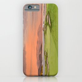 Pebble Beach Golf Course Hole 17 iPhone Case