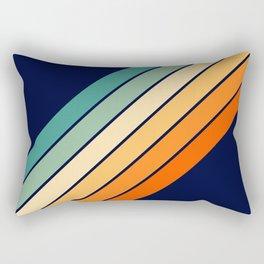 Farida - 70s Vintage Style Retro Stripes Rectangular Pillow