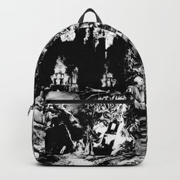 Smoldering in the Blackest Caverns Backpack