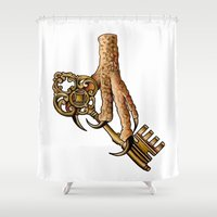 ravenclaw Shower Curtains featuring Ravenclaw by SDKCreative