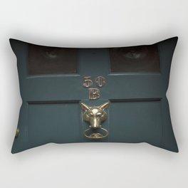 Opportunity Knocks Rectangular Pillow